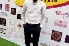Mr. Olamide Olaegbe also on the green carpet at the House of Nifemi Trade Fair, Lagos